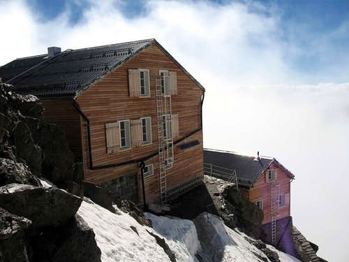 The Mischabel hutte