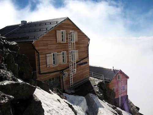 The Mischabel hutte