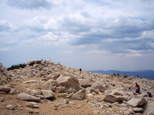 San Gorgonio Summit