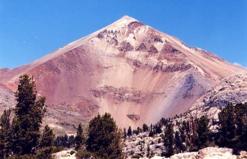 Red Slate Mountain. Portrait...