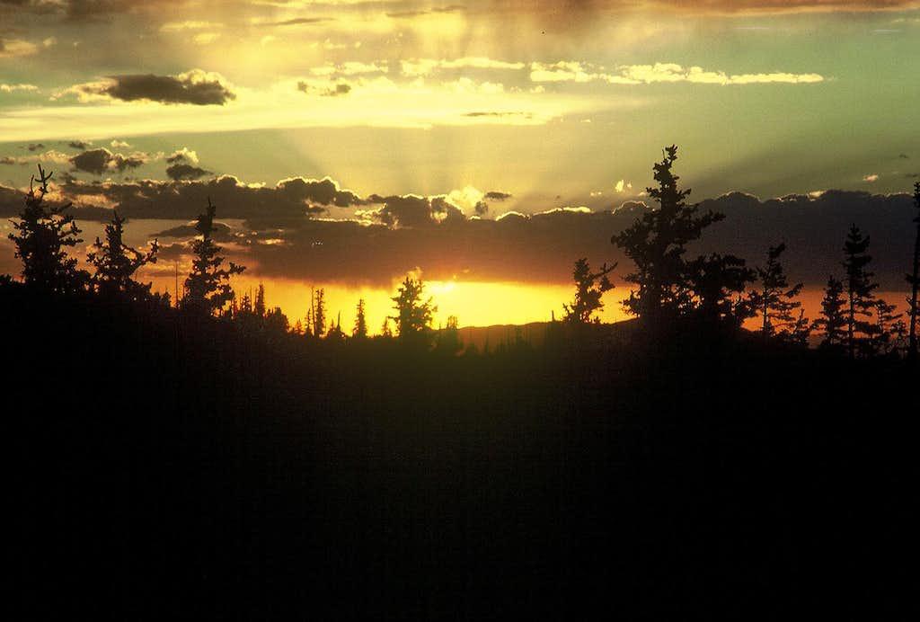 Snowy Range Sunset