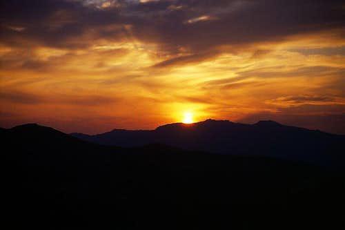Sunrise in the Tartaigne