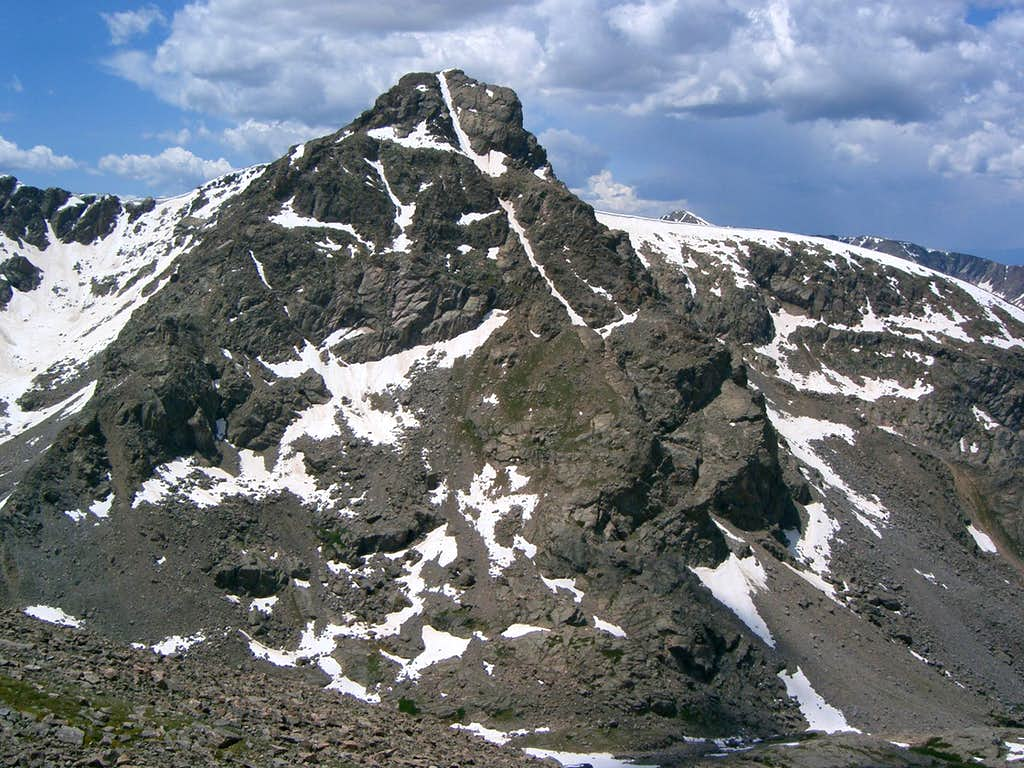 Mount of the Holy Cross from Point 13,248