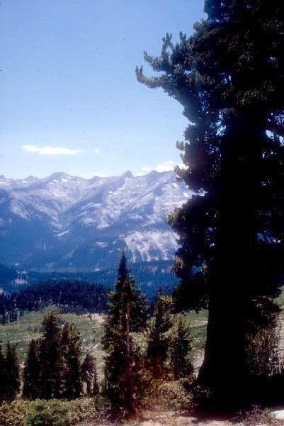 Alta Meadow as seen from Alta Peak