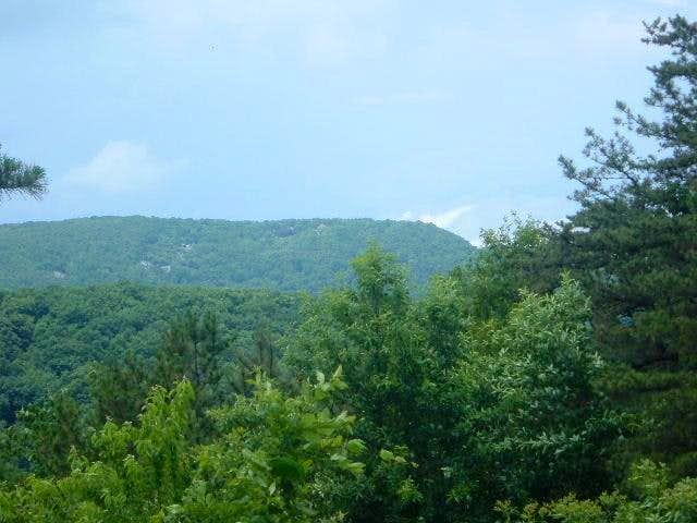 View of Turk Mountain