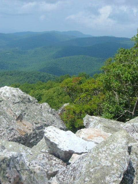 Hightop and the southern Shenandoahs