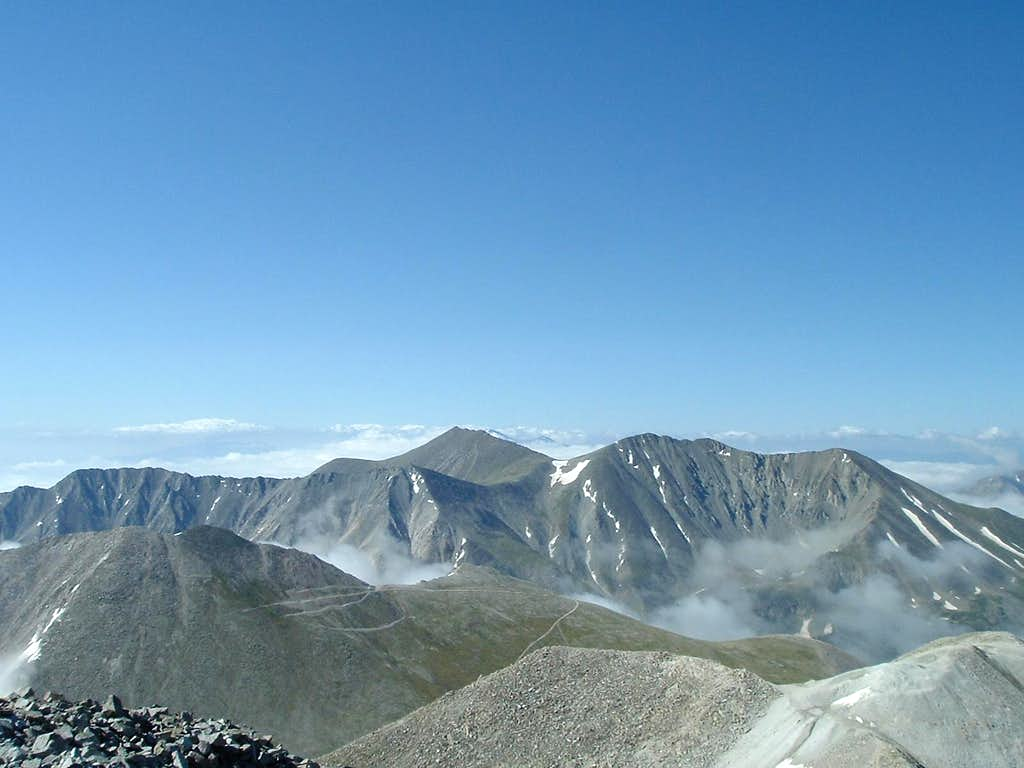 Mt Shavano & Mt Tabegauche