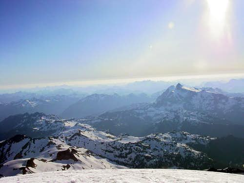 Mount Shuksan from Grant Peak