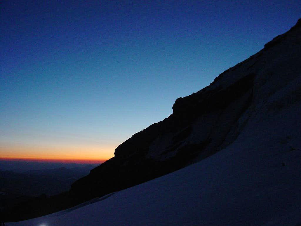 Sunrise in the Saddle