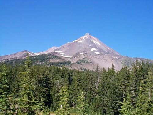 Mt. Jefferson from Shale Lake