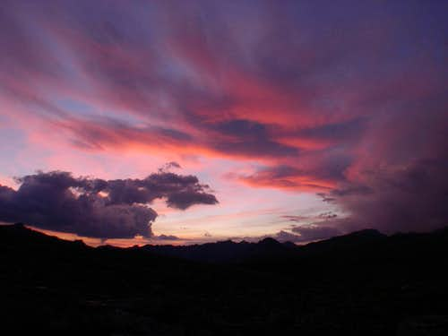 Sunset over Humphreys Basin