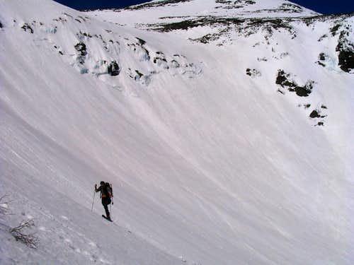 ski mtneering