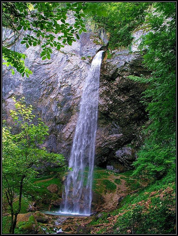 Wildenstein waterfall
