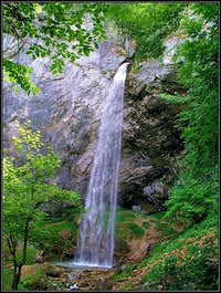 Wildenstein waterfall