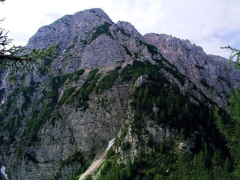 Hochobir/Ojstrc north face