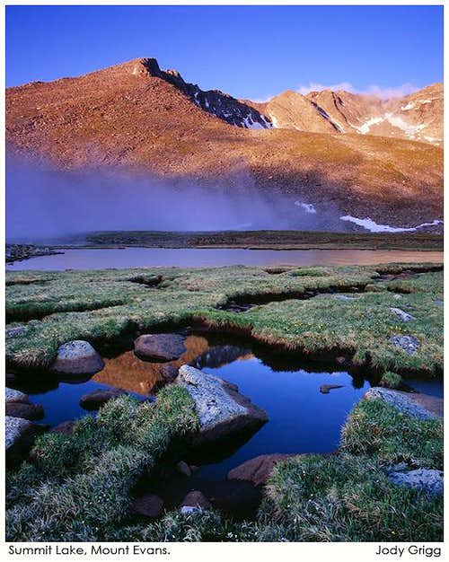 Mount Evans - Sunrise
