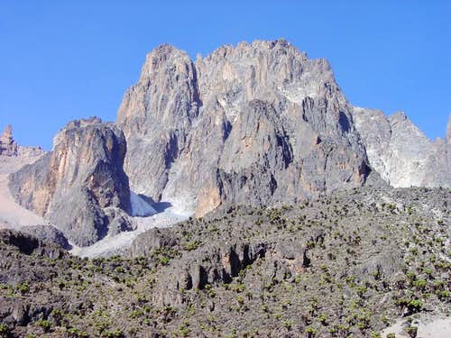 Mt Kenya - North Face