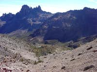 Mt Kenya - North Face approach