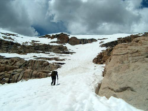 Ascent of Winter Pass
