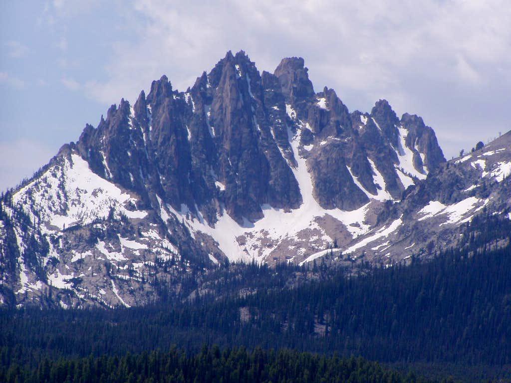 Mount Heyburn from Alpine Way Trail