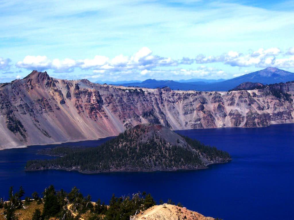Wizard island / Crater lake N.P.
