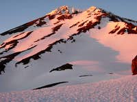 Sunset on West Face Gully
