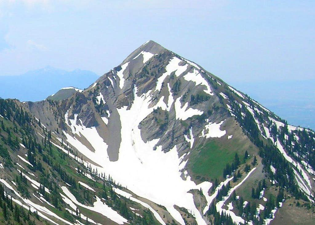 East Face of Provo Peak