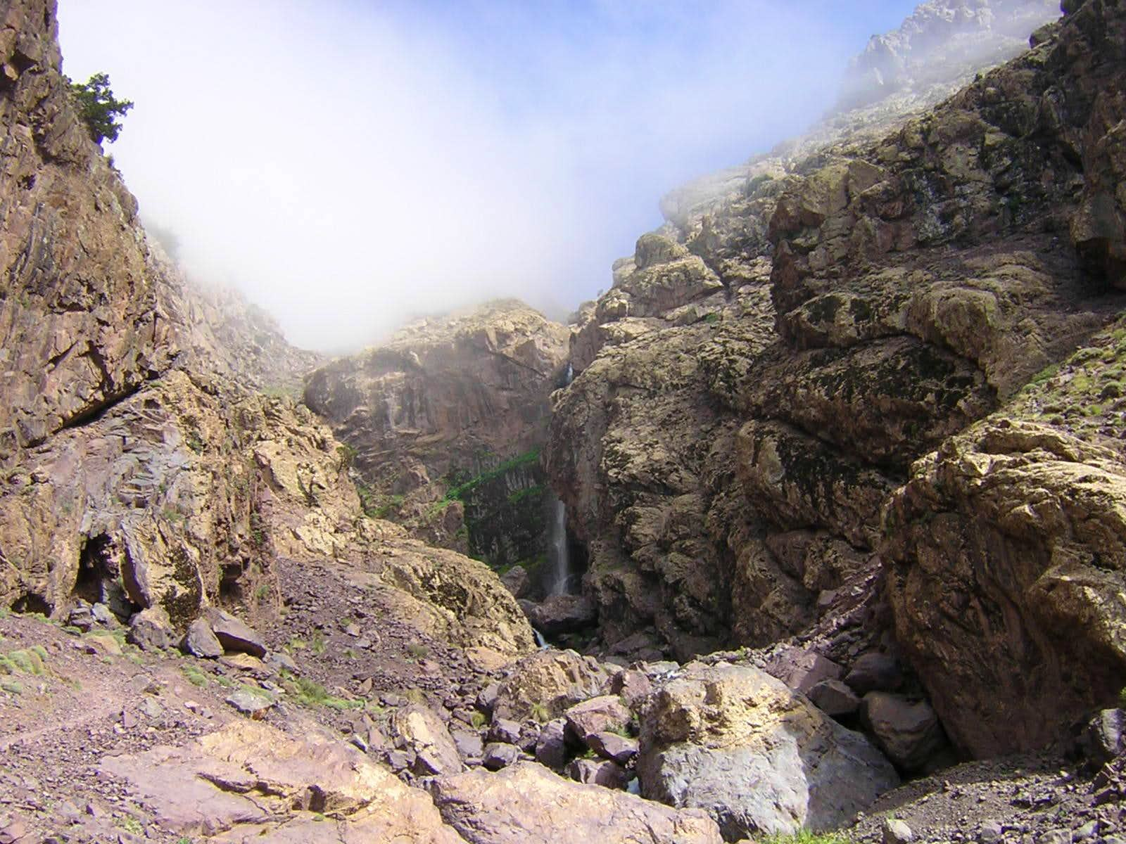 Toubkal Refuge to Imlil: The Hard Way