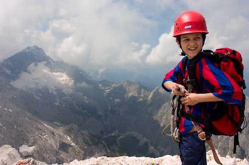 Alpspitze summit