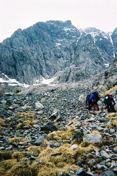 Approaching Observatory Ridge
