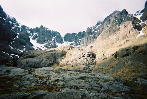 A view into coirre na Ciste