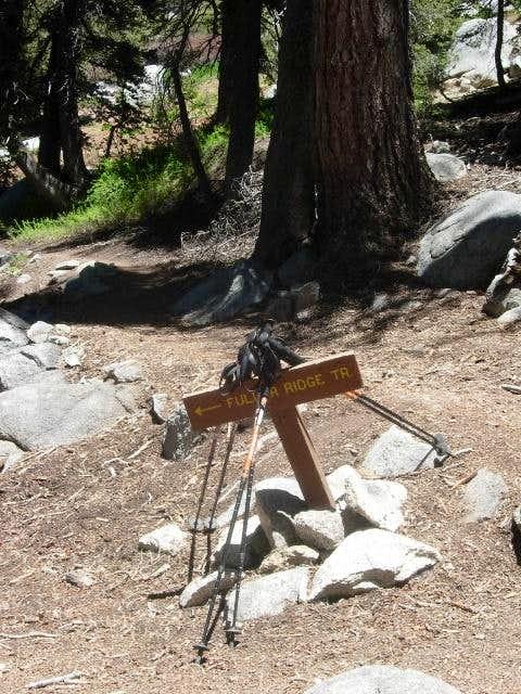 Fuller Ridge Trail Junction