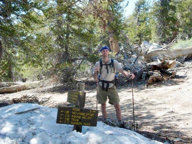 Trail to San Jacinto Peak