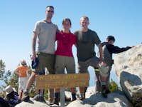 On San Jacinto Peak's Summit