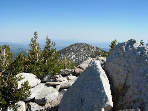 Drury Peak from San Jacinto