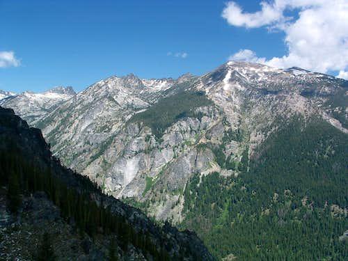 Trapper Peak from Boulder Point
