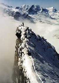 Rimpfischhorn Summit-Ridge