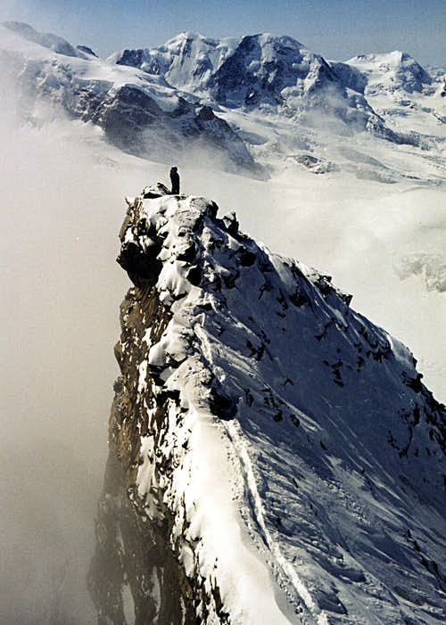 Rimpfischhorn Summit-Ridge