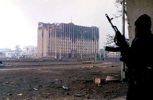 Destroyed Grozny