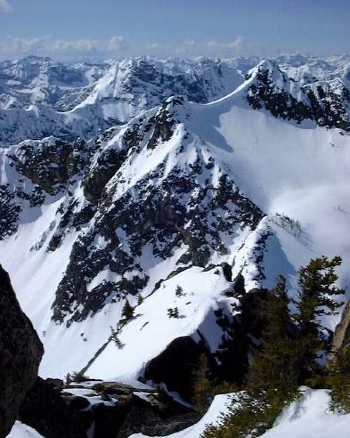 Blue Lake Peak (upper right...