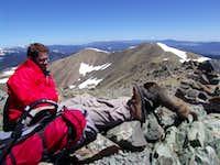 Dustiano on Wheeler Peak