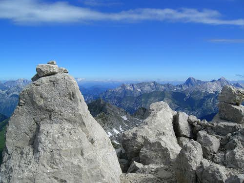 From the summit of Krn