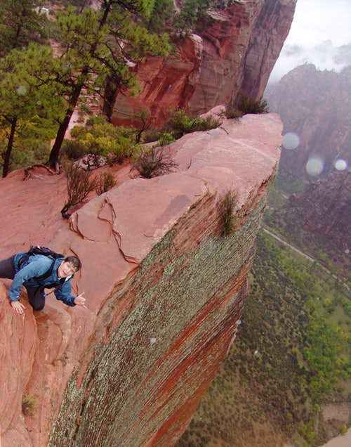 Dan the Jones on Angels Landing