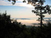 Breakfast view near Bear Mountain