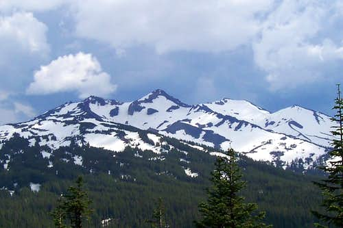 Diamond peak, Oregon cascades.