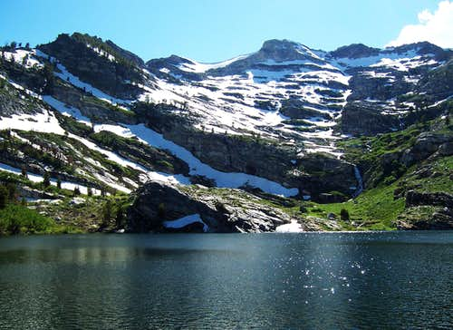 Greys Peak from Angel Lake