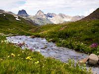 Arrow and Vestal Peak