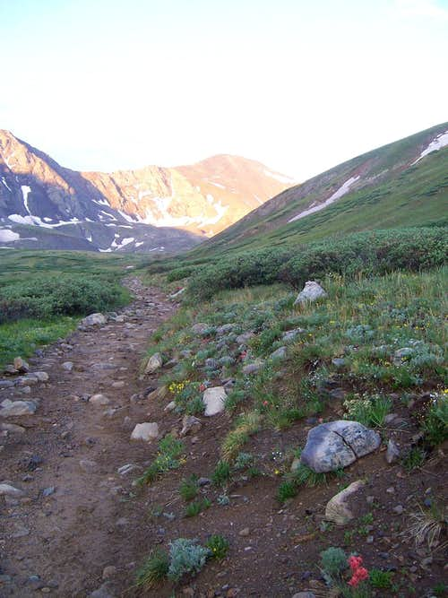 Grays Peak Scenery