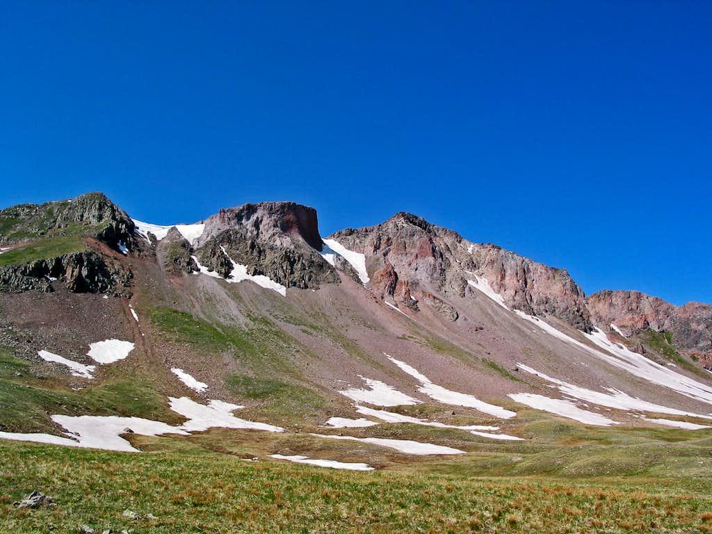 Summit Peak north face