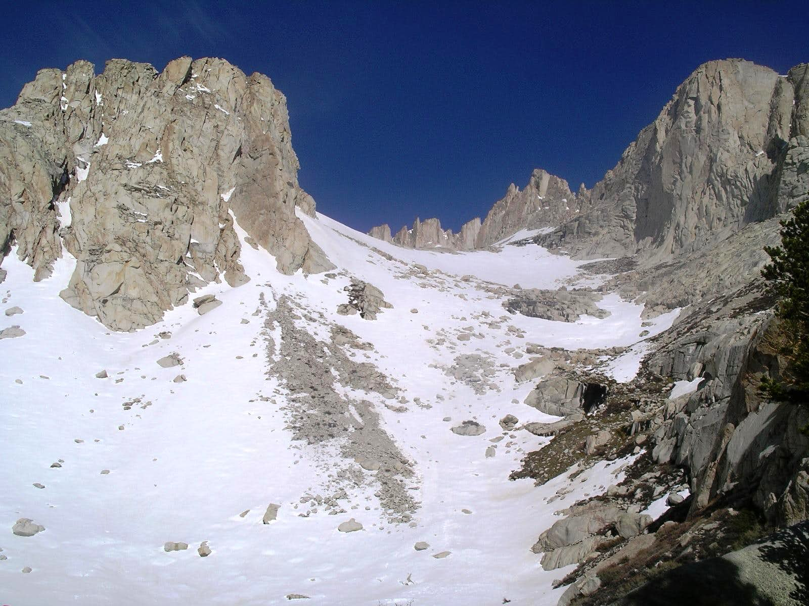 Mt Whitney May 2005